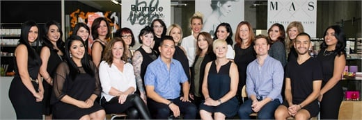 The team from Mane Attraction Salon in Phoenix, AZ.