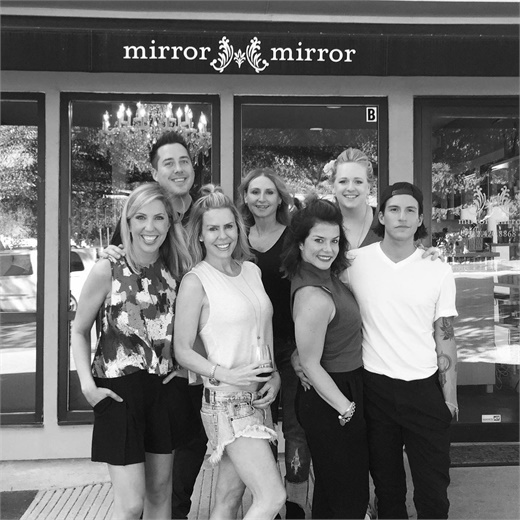The team from Mirror Mirror Salon in Austin, TX.