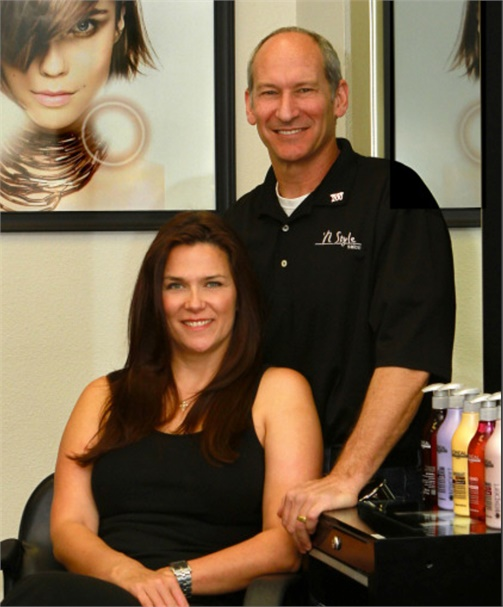 Tiffany and Clay Friedman, owners of N Style in Saugus, CA.