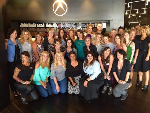 The team from New Identities Hair Studio in Tampa, FL.