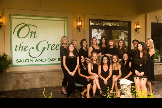 The team from On the Green Salon and Day Spa in Saint Marys, GA.