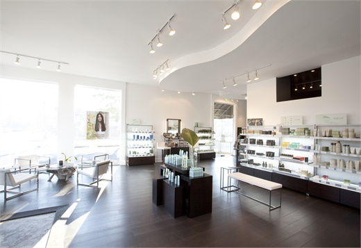 The retail area of one of the Paris Parker locations.