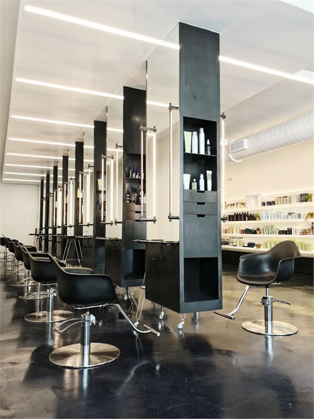 An inside look at one of the Paris Parker salons in New Orleans, Louisiana.