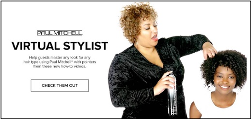 Online tools for students at Paul Mitchell Schools in Sandy, UT.