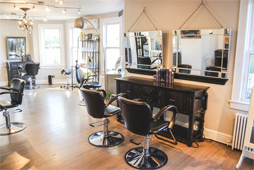 An inside look at Prism Wellness Salon and Spa in St. James, New York.