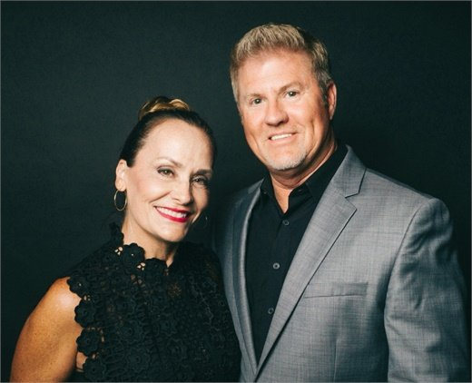 Mary and Scott Randolph, owner of Randolph's Salons in Rochester Hills, Michigan.