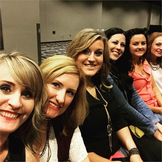 The team from Razmataz Salon in Georgetown, TX.