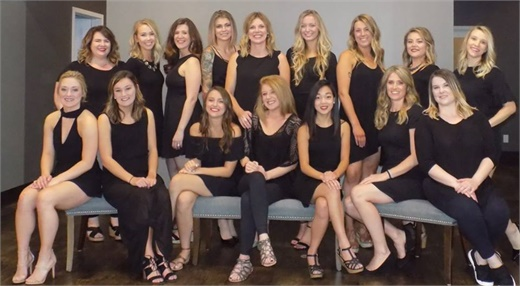 The team from Revive Salon in White Bear Lake, Minnesota.