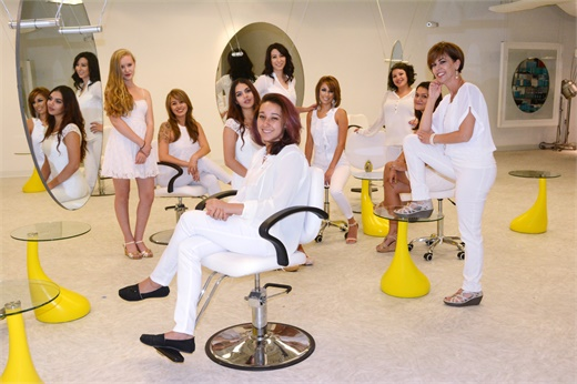 The team at Rock Paper Scissor SalonSpa in Santa Fe, NM.