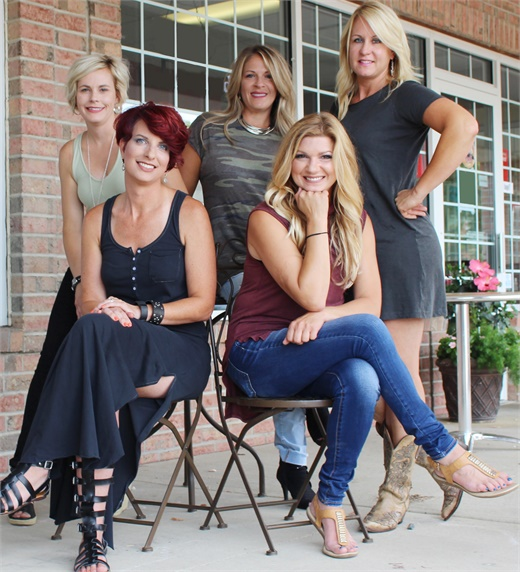 The management team from Salon Rootz in Medina, OH.