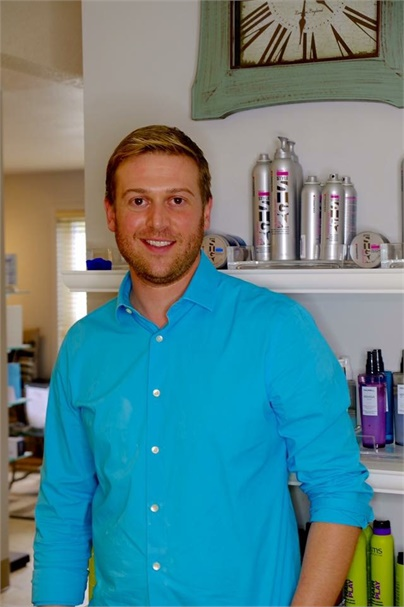 Scott Allison, owner of S Salon and Studio in Fairbanks, Alaska.