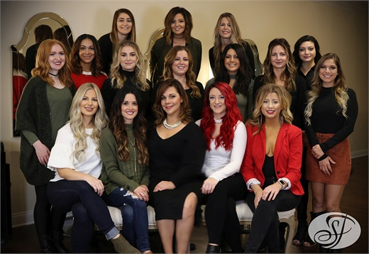 The team from SF Salon in Fairlawn, Ohio.
