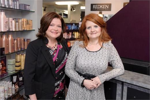 The owners of Salon Allure in Huntsville, AL.