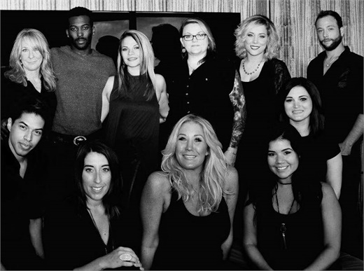 The team from Salon M@ in Charlotte, NC.