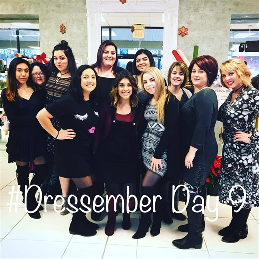 The team from Salon Secrets Spa in Kennett Square, Pennsylvania.