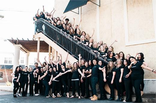 The team from Spa Nijoli & Salon in Methuen, MA.