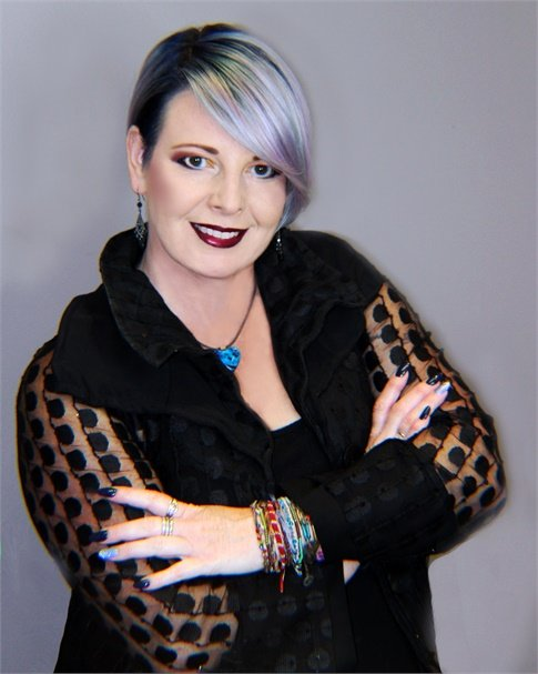 Rowena Yeager, owner of Studio Wish Salon in Twinsburg, Ohio.