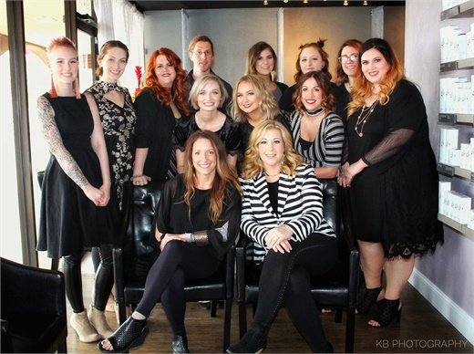 The team from Thairapy Lounge Salon in Oklahoma City, Oklahoma.