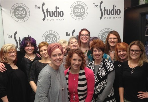 The team from The Studio for Hair in Farmington Hills, MI.