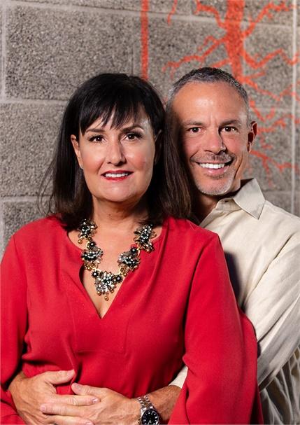 Lauren Hart and Sam Sciotto, owners of The Root Salon in Phoenix, Arizona.