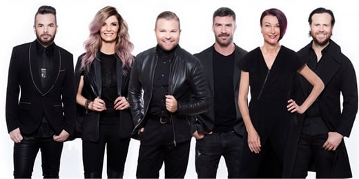 The Ulta Beauty Pro Team (from left): Sean Godard, Danielle Keasling, Nick Stenson, Ammon Carver, Sonya Dove, Carmody Homan