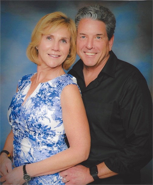 Claire and Tom McDermott, owners of Wingate Salon & Spa in Stratham, NH.