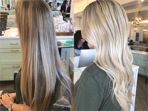 Gentle Update For The Long Haired Client Hair Color