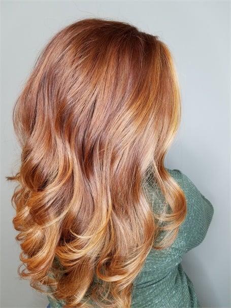 Bringing Red Hair Back To Life Color Modern Salon
