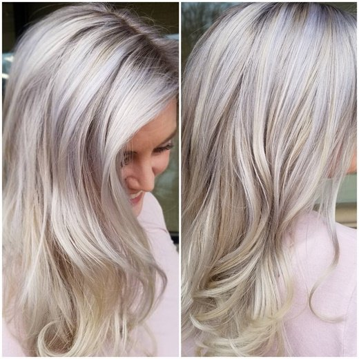 Brightening Up Going Super Blonde Hair Color Modern