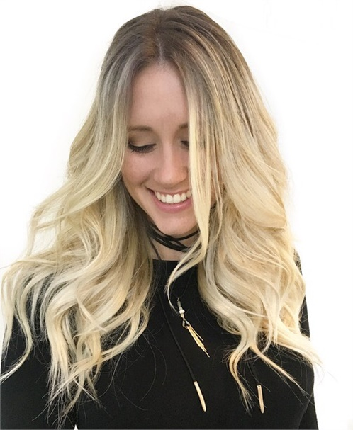 Ashy blonde by Frances Canola