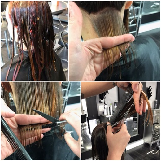 Balayage Toning And Cut For Lovely Makeover Hair Color Modern Salon