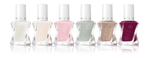 Essie's 2017 Gel Couture bridal collection.