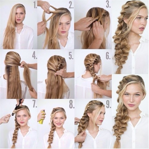 In 2014, Villa did a hair tutorial every Tuesday for the entire year!