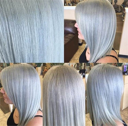 Silver and Smoke with Wella Formula