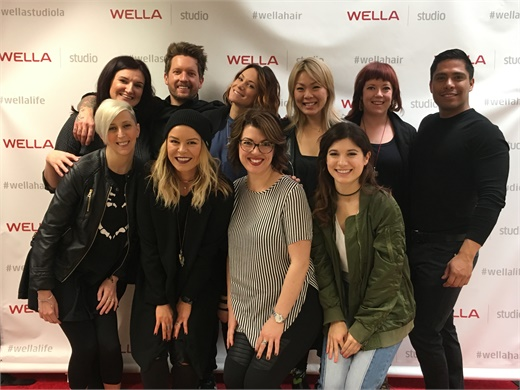Phase Two class at the Wella Studio.