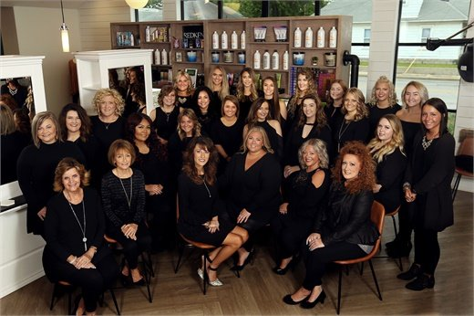 The team from Posh Salon and Day Spa in Kokomo, Indiana.