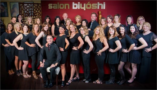 The team from Salon Biyoshi in Knoxville, TN.