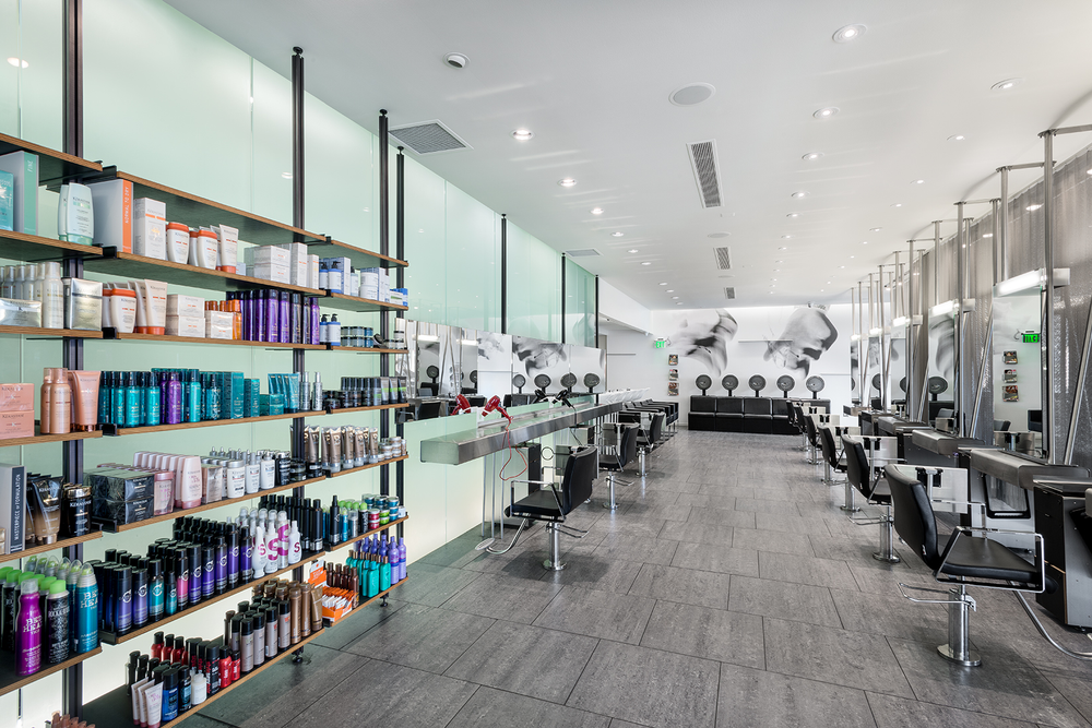 <p>The 15-year-old Royal Oak salon looks sleek and modern to this day.</p>