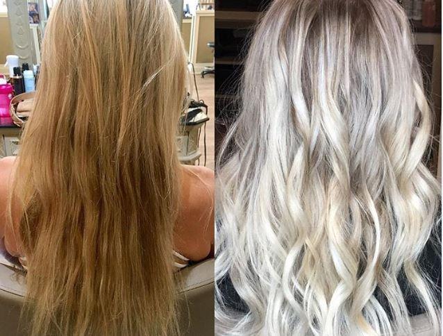 White Blonde Kenra Formula