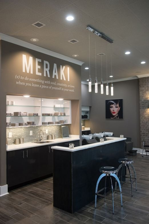 "Above the color area, the owners define their name Meraki, as ""to do something with soul, creativity or love; to leave a piece of yourself in your work."""