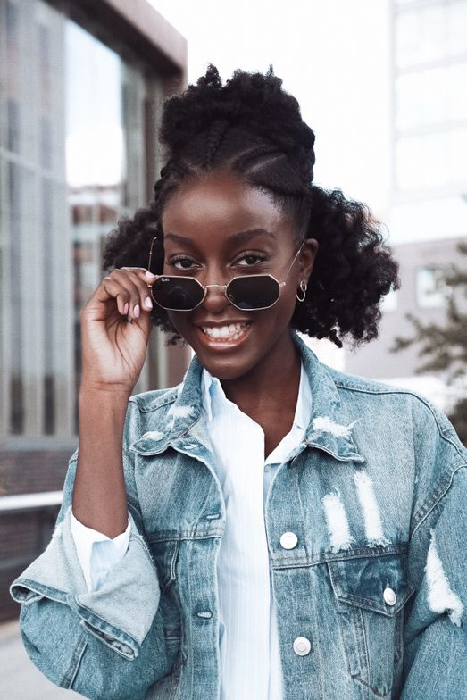 """<strong>SANDRA NAKAWUNDE</strong> <a href=""""https://www.instagram.com/nakawunde/"""" target=""""_blank"""" rel=""""noopener"""">@nakawunde</a> Currently living in Paris, France, Sandra cites Dianna Ross as a beauty icon, giving her the confidence to be herself. Sandra's Instagram is a dreamy visual of her Texture Type 7 hair journey and continued explorative in styling."""