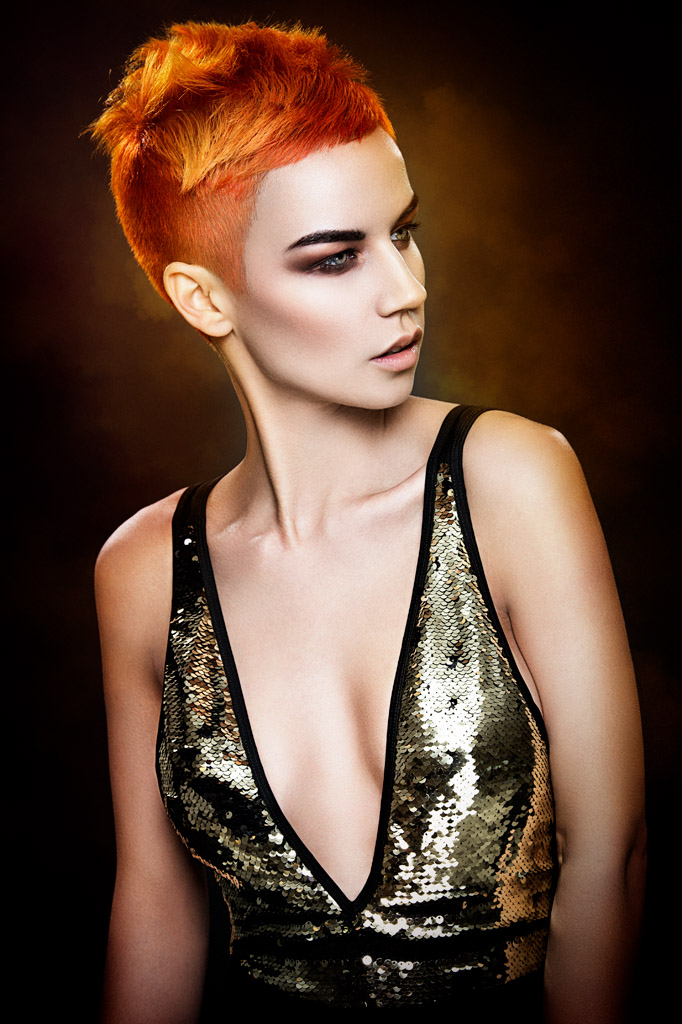 HOW-TO: Fiery, Dimensional Hair Color Using Chi Chromashine