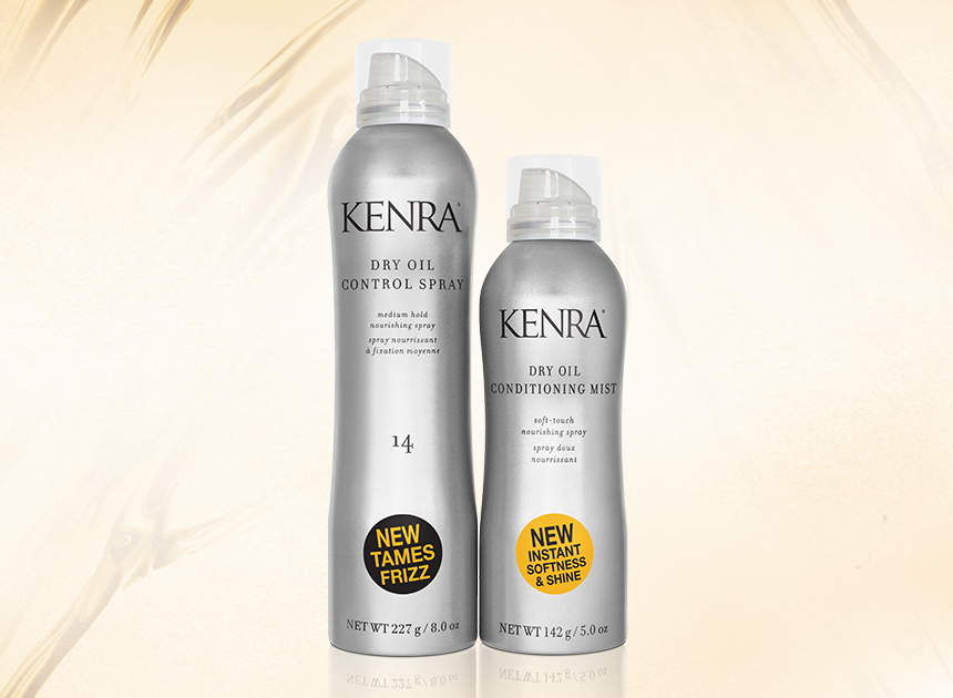 Dry Oil Collection from Kenra Professional