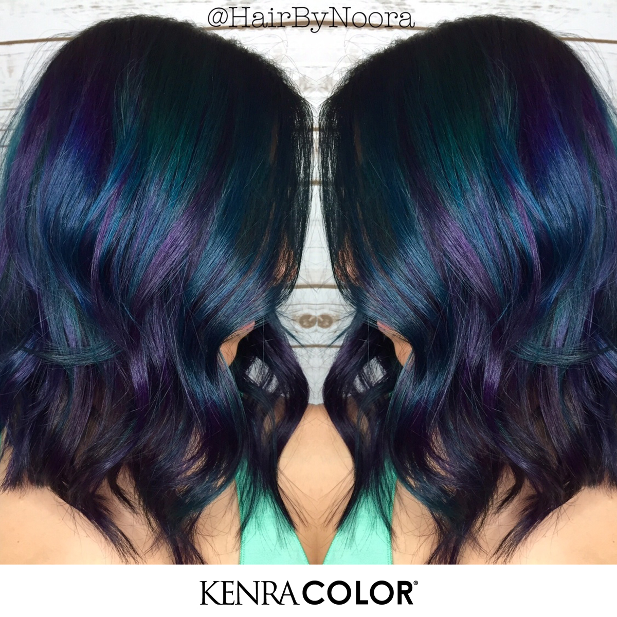 HOW-TO: Galaxy Haircolor & Textured Lob