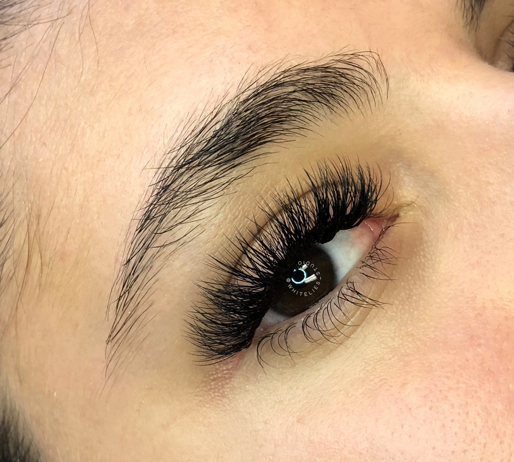 """<p><strong>Sometimes more is more. According to Alison, this client already had voluminous lashes, but why stop there? """"With NovaLash's American Volume technique, in lengths 6mm to 14mm D-Curl, we were able to give her five times more lashes,"""" she says. """"Now she has lashes for days, and no doubt her Valentine will love them as much as she does!""""</strong></p>"""