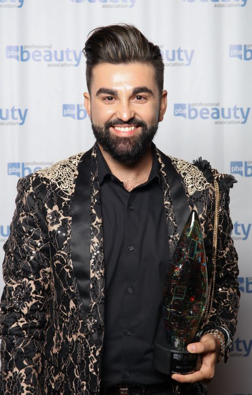 2016 NAHA Makeup Artist of the Year Winner Isidro Valencia