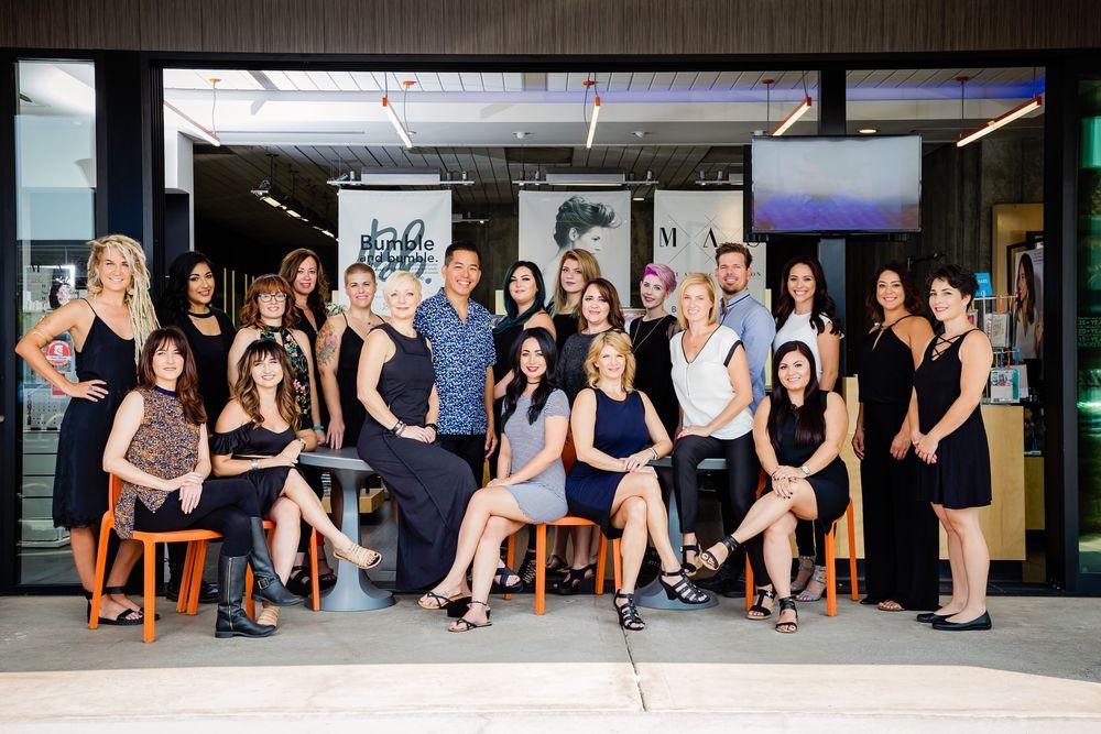 The team from Mane Attraction Salon in Phoenix, AZ.