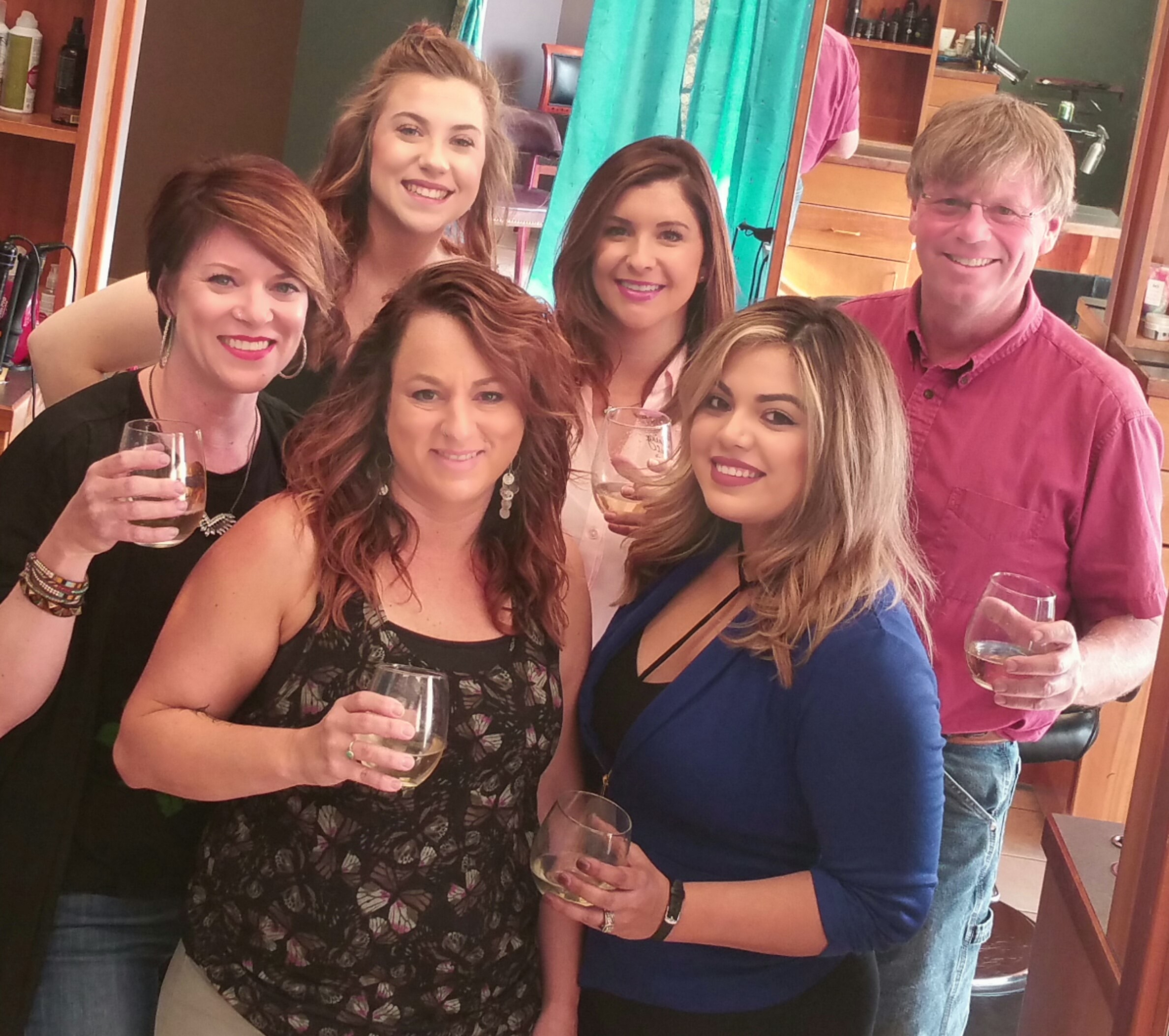 Most of the team from Mangos in Ellensburg, Washington: Sarah Rochester, Jacqui King, Keith Riexinger, Stephanie Castillo, Kim Davis and Martha Robles.