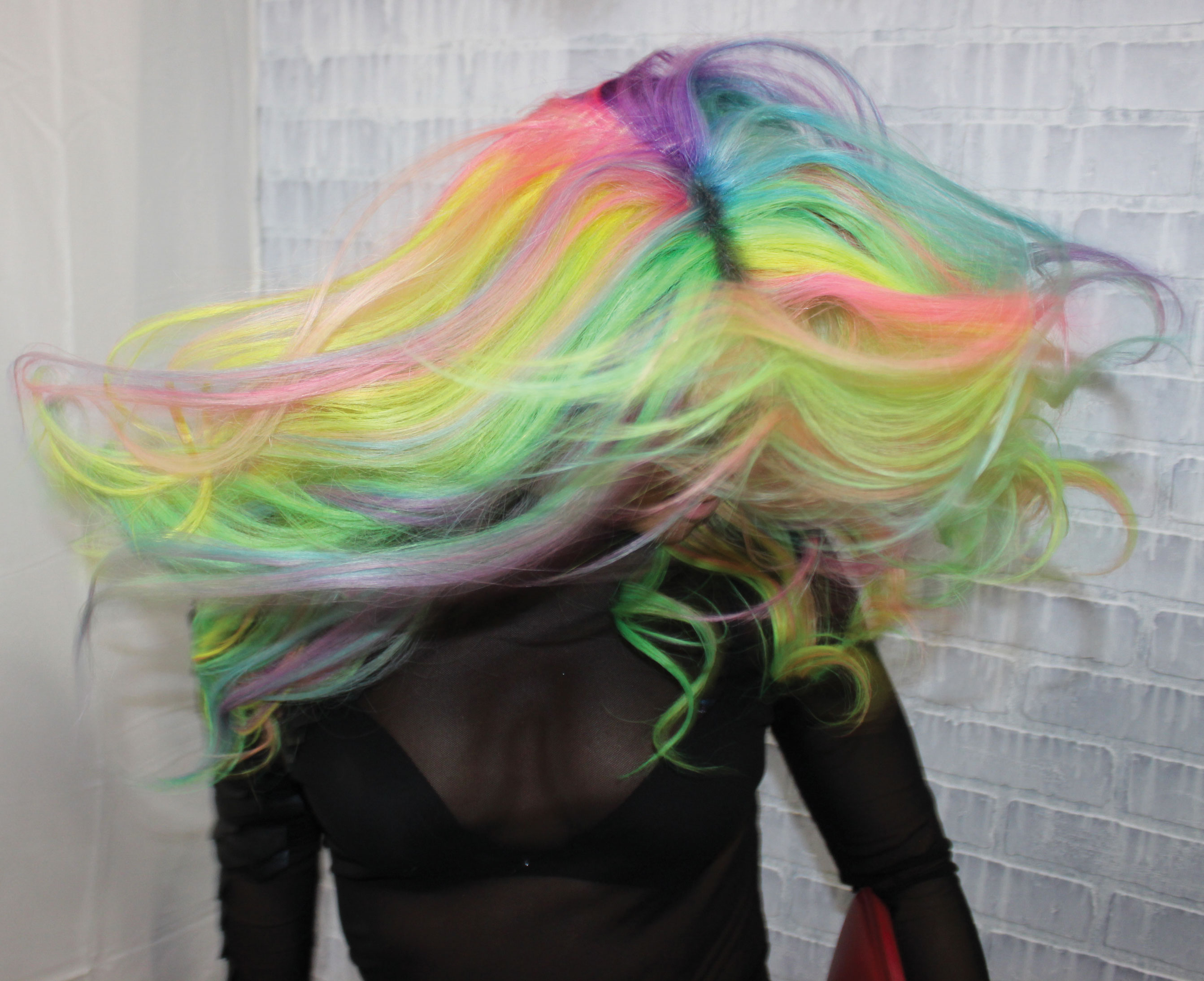 Manic Panic Intermixed Neon and Pastel How-To