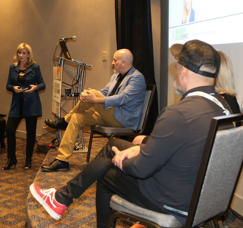 <p>In a special session tailored for manufacturers and distributors, Bonnie Bonadeo helps Jeff South, Amanda Hair and Stephen Posta express what today&#39;s salon owners really need.</p>